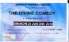 ANCIENS BILLETS DE CONCERTS ~~ TICKETS ~~ BACK TO THE OLDIES CONCERTS : THE DIVINE COMEDY
